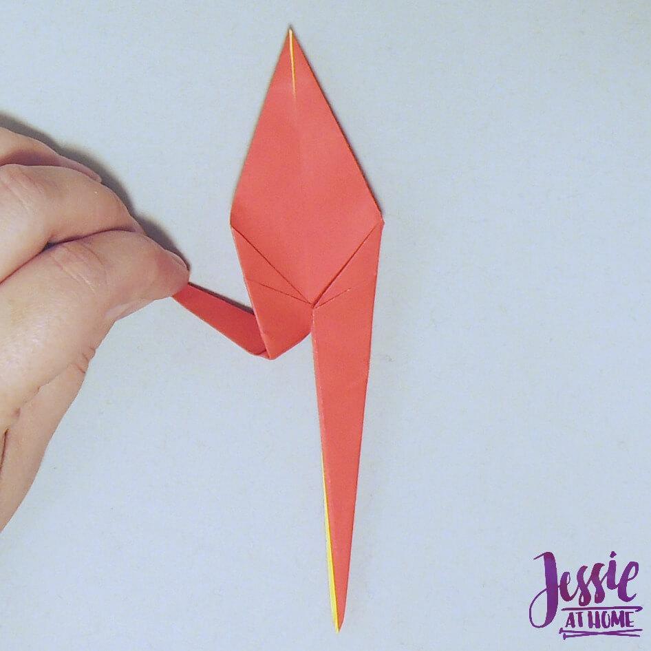 Origami Crane Step 5
