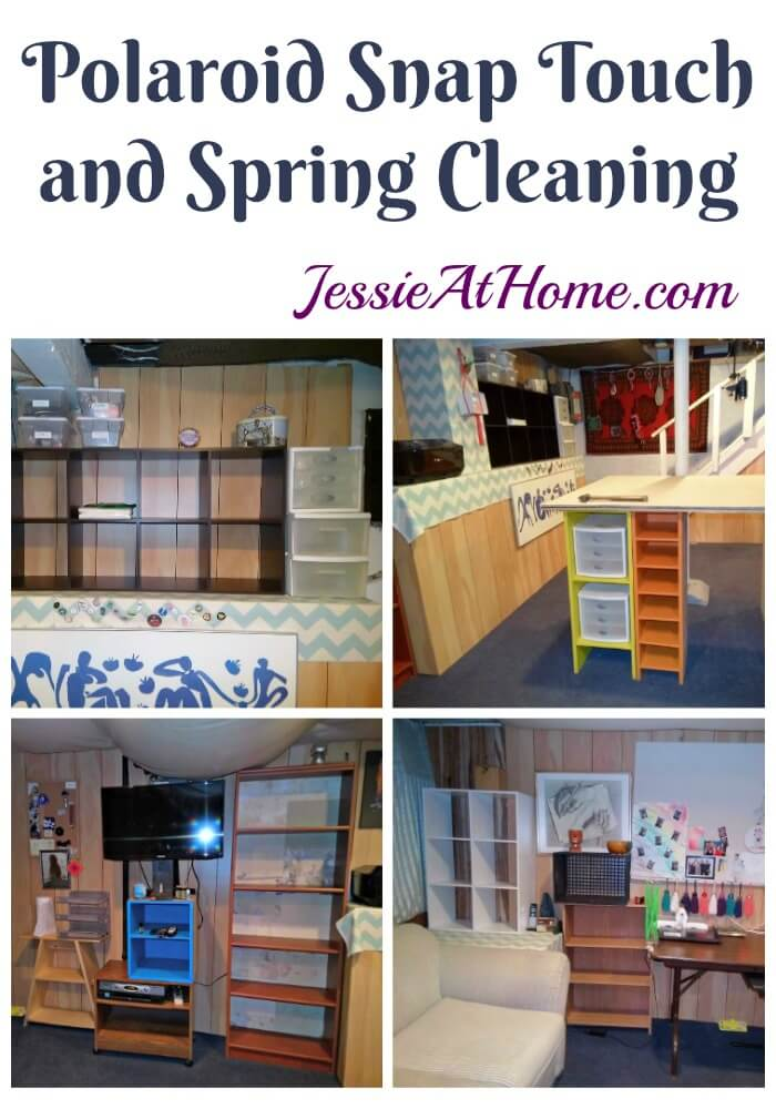 Polaroid Snap Touch and Spring Cleaning from Jessie At Home