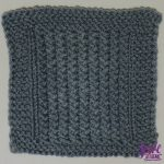 SKYP Stitch Square - free knit pattern by Jessie At Home - 1