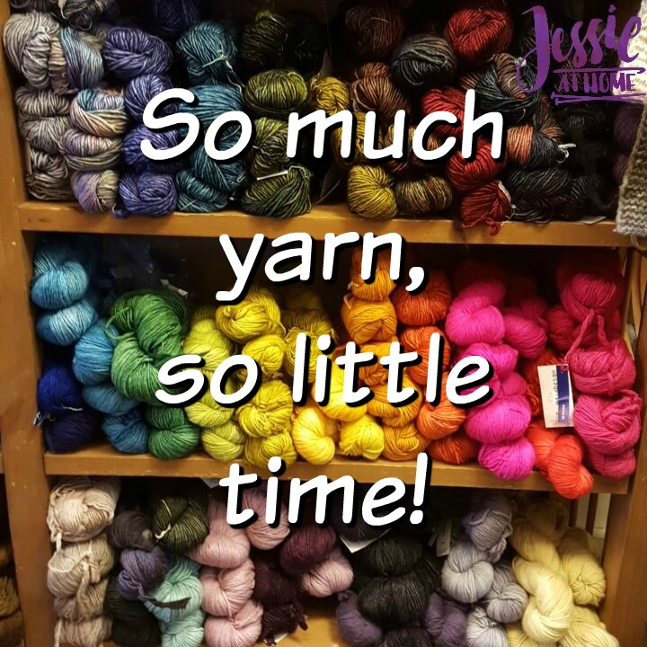 Time for yarn