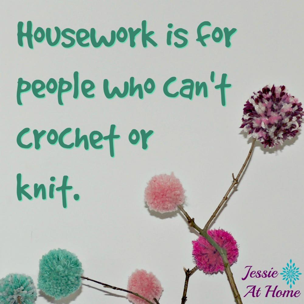 Too yarn busy