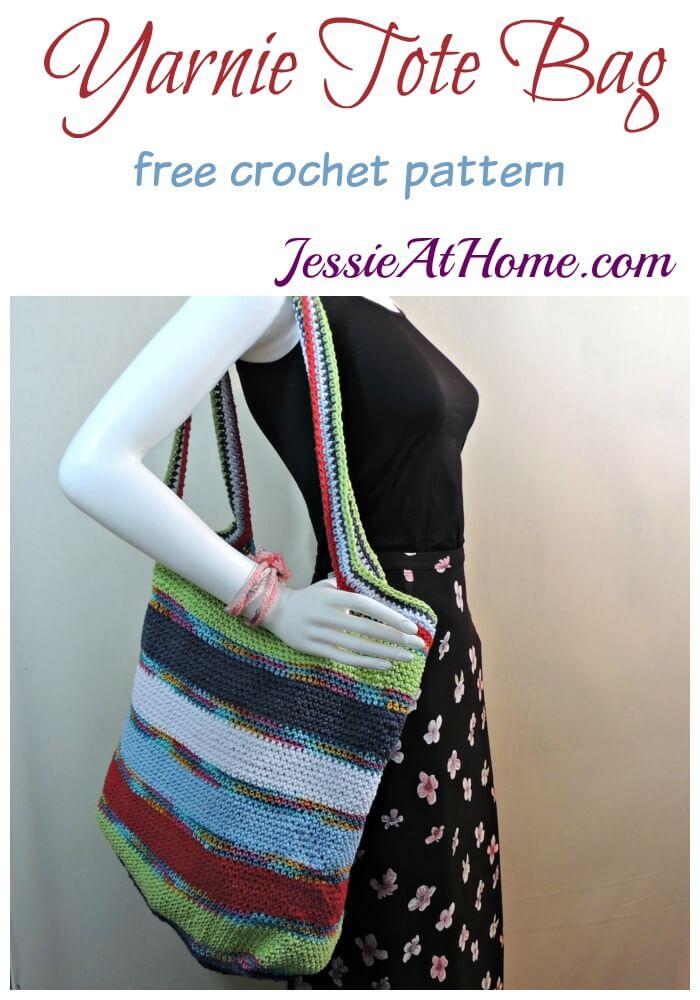 Yarnie Tote Bag - free crochet pattern by Jessie At Home