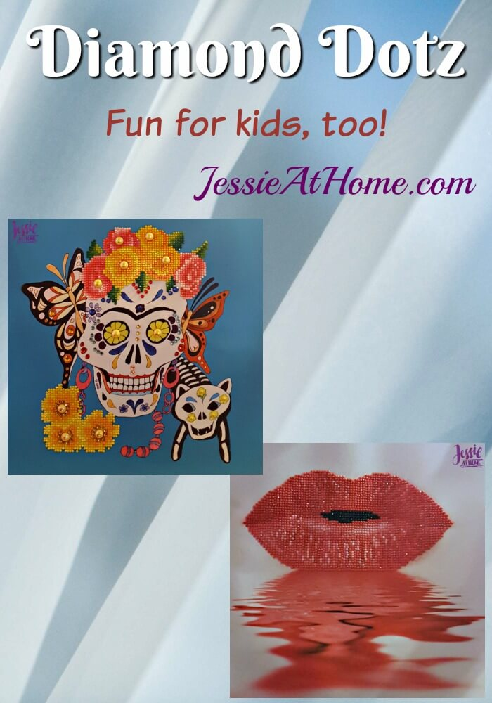 Diamond Dotz - fun for kids too - Jessie At Home