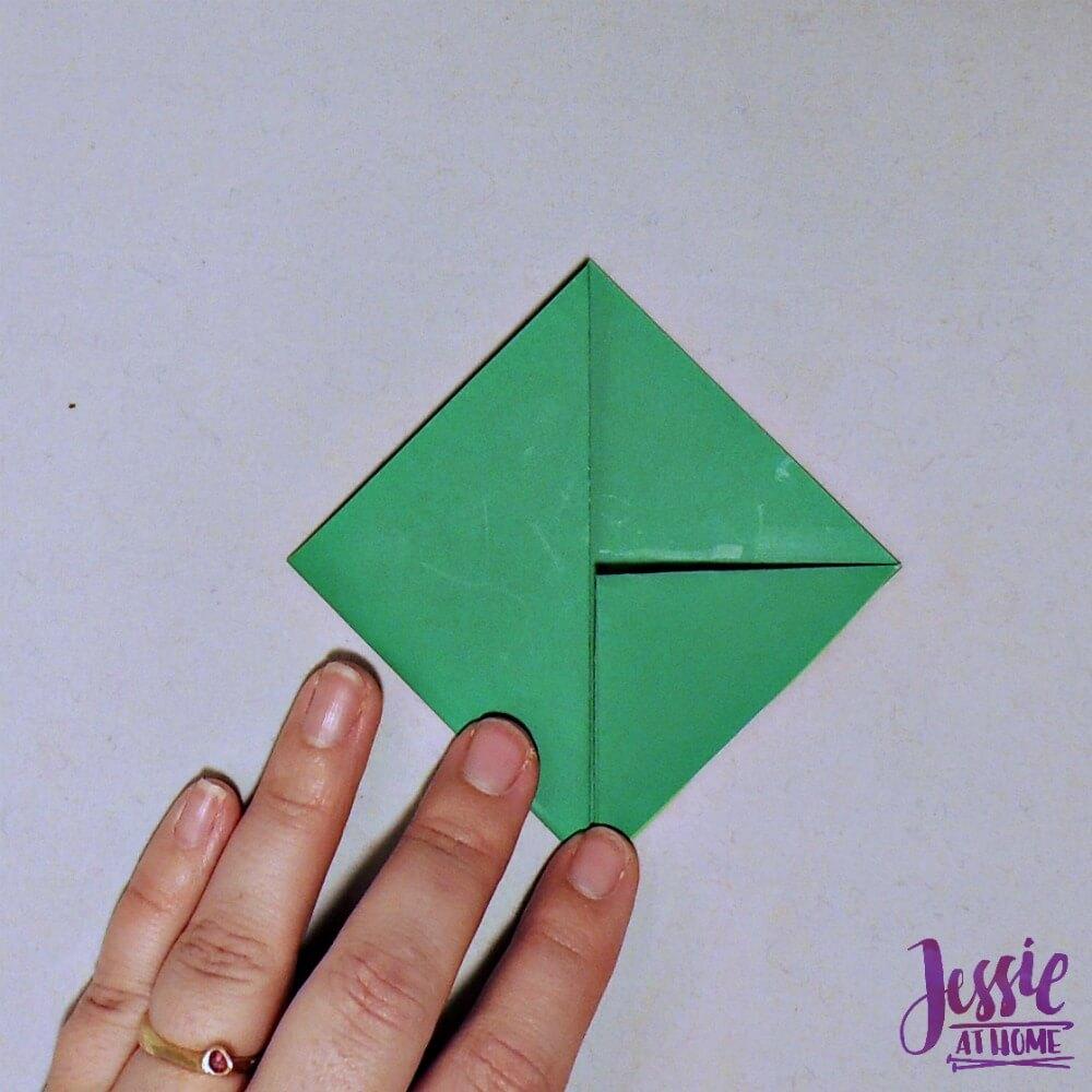Origami Cicada Step 3