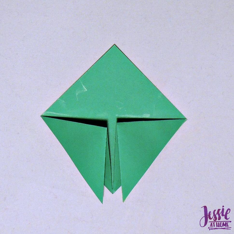 Origami Cicada Step 4