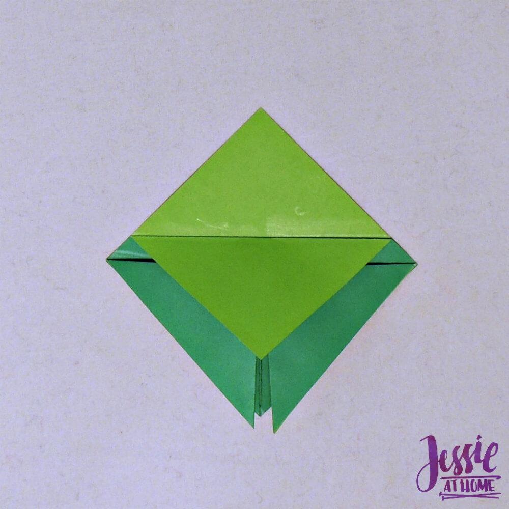 Origami Cicada Step 5
