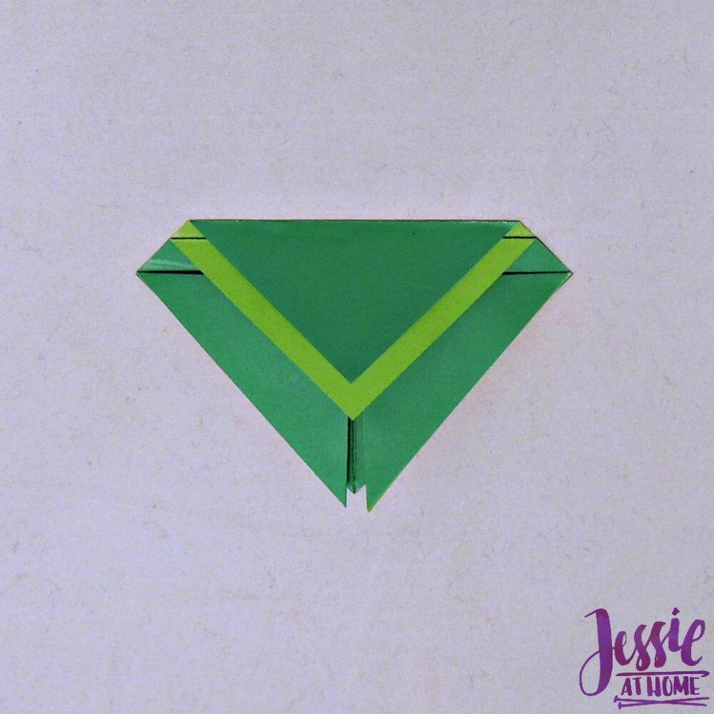 Origami Cicada Step 6