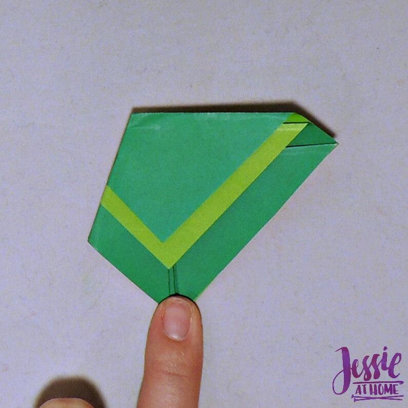 Origami Cicada Step 7