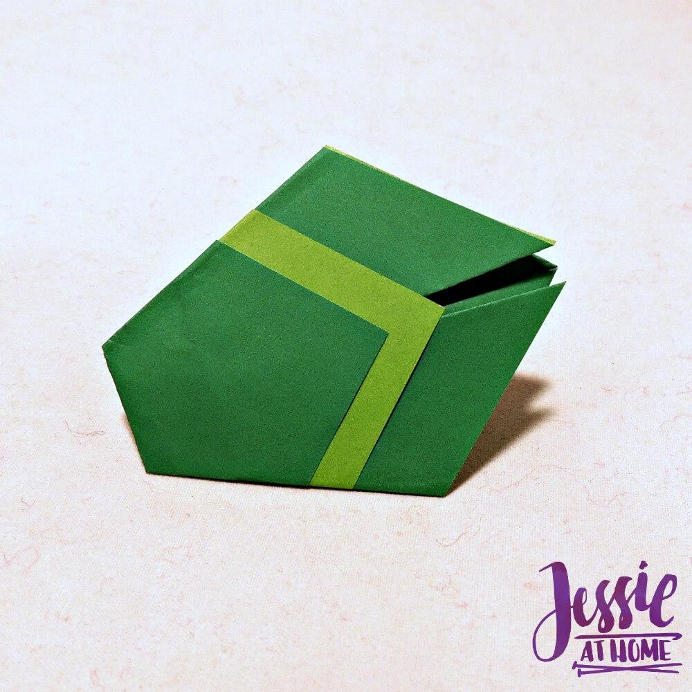 Origami Cicada Step 8