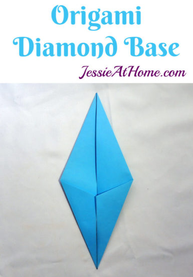 Origami Diamond Base Tutorial by Jessie At Home