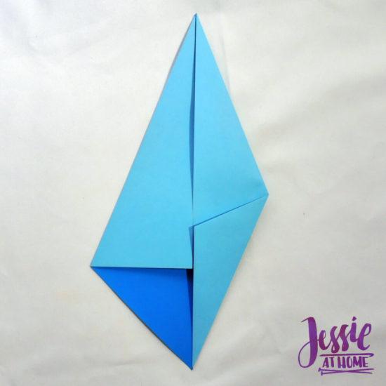 Origami Diamond Base Tutorial by Jessie At Home - Step 2