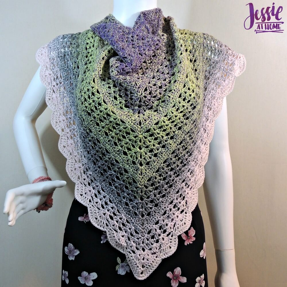 Spring Shells - free crochet pattern by Jessie At Home - 2