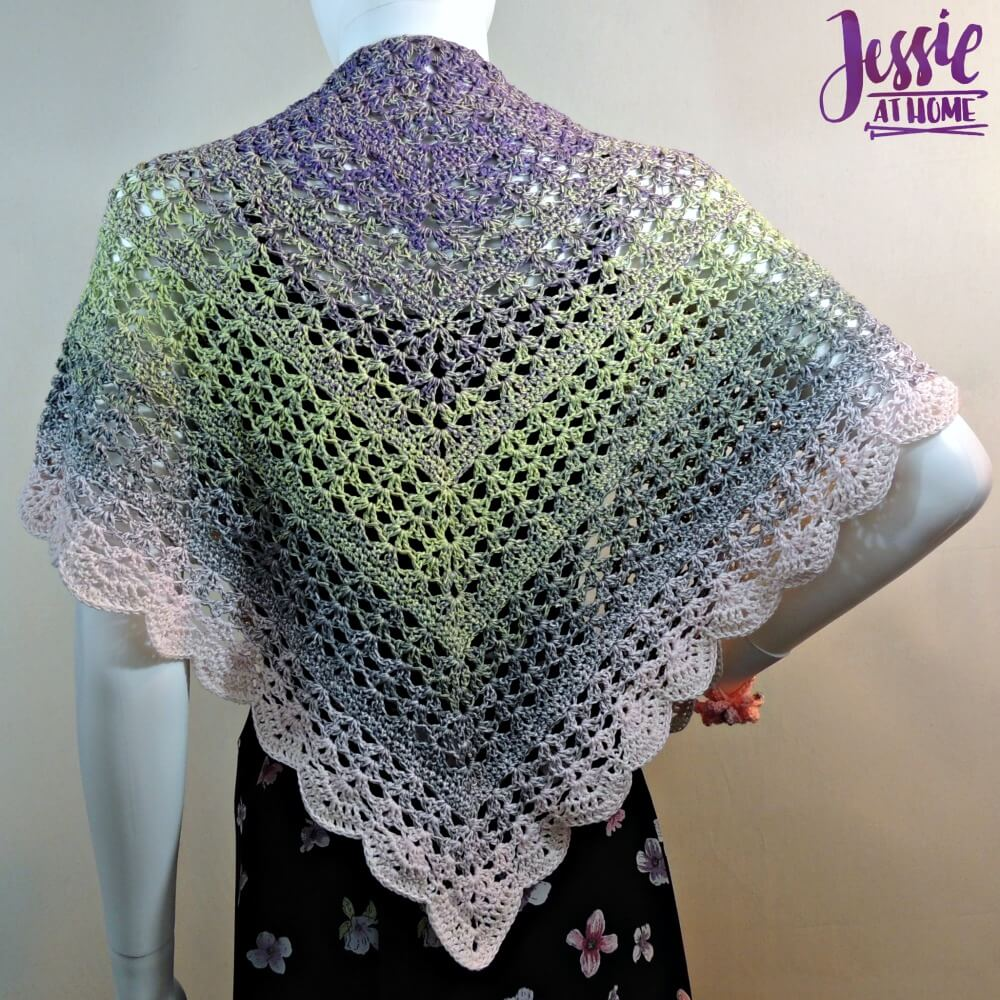 Spring Shells - free crochet pattern by Jessie At Home - 3