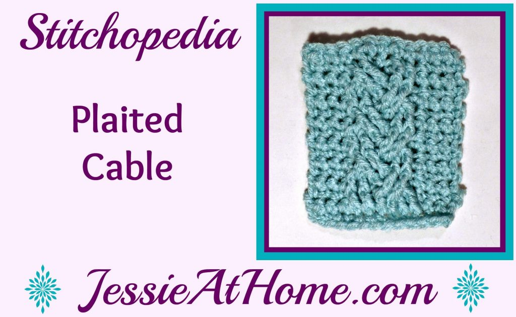Stitchopedia Plaited Cable from Jessie At Home - cover