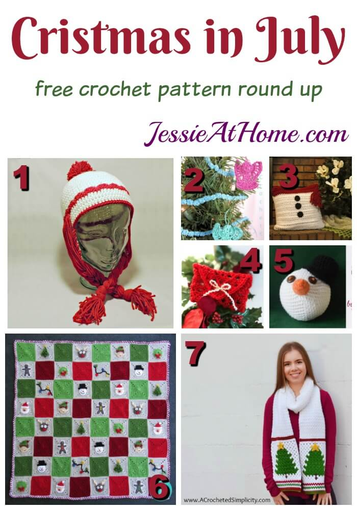 Christmas In July Crochet | Jessie At Home