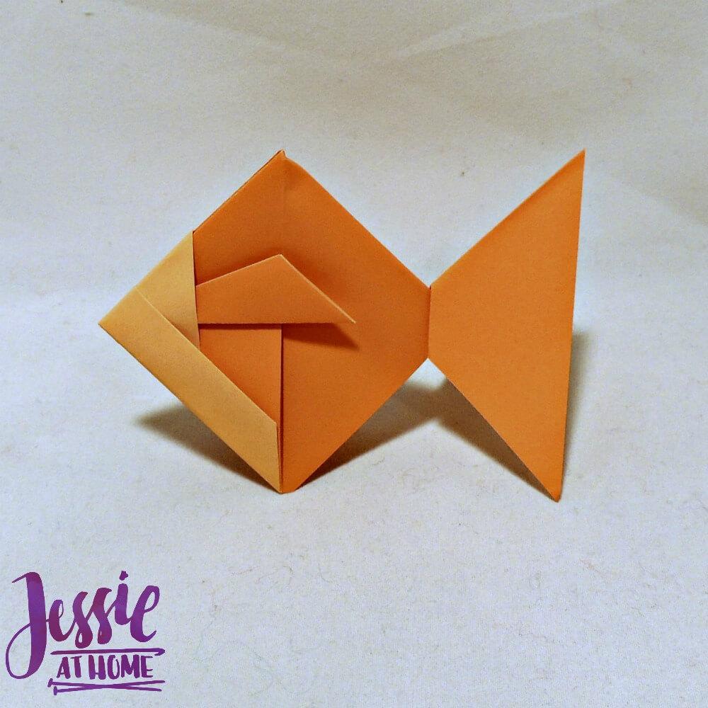 Kirigami Goldfish done
