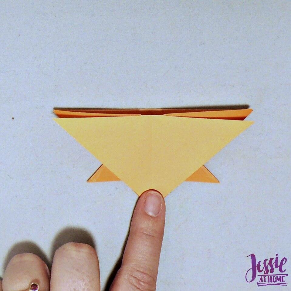 Kirigami Goldfish step 10