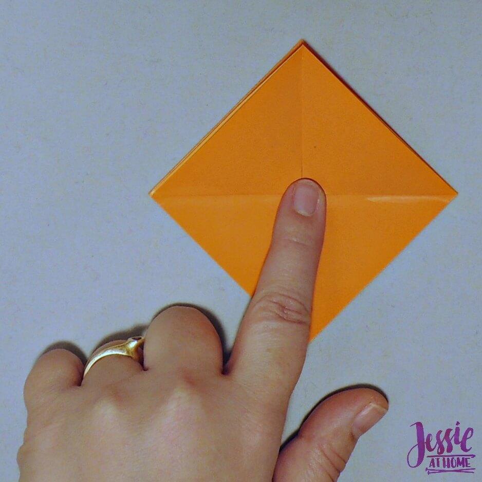 Kirigami Goldfish step 5