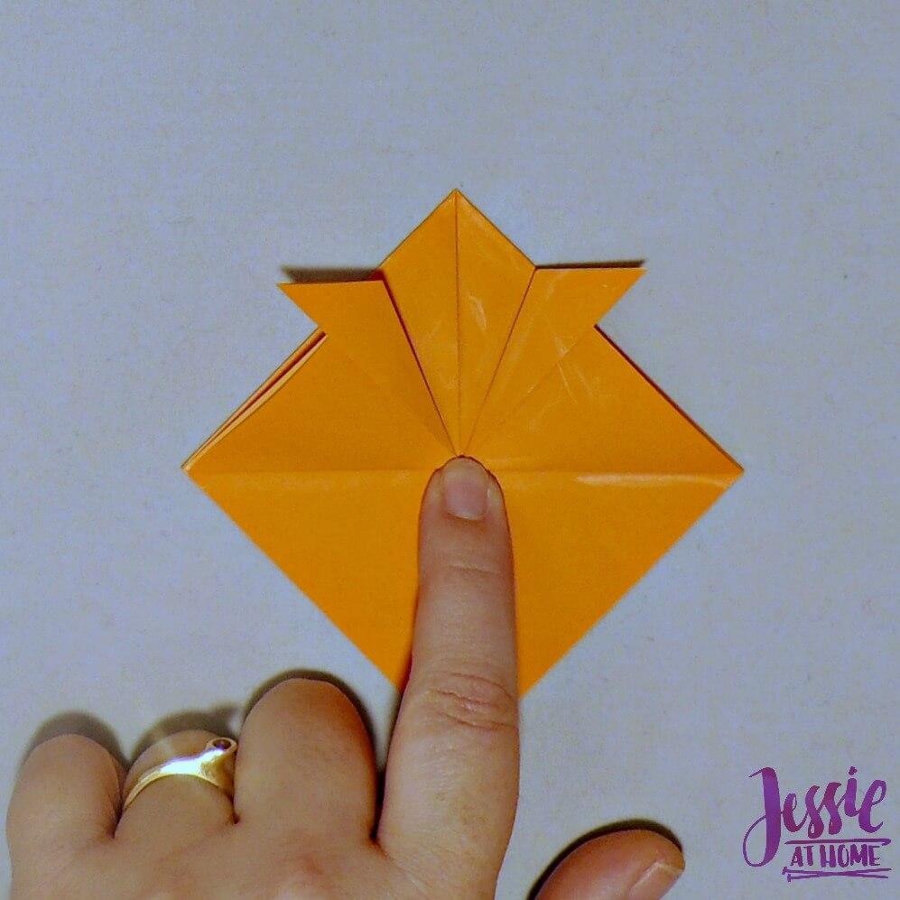 Kirigami Goldfish step 6