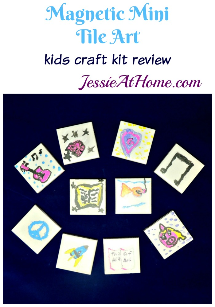 Magnetic Mini Tile Art review from Jessie At Home