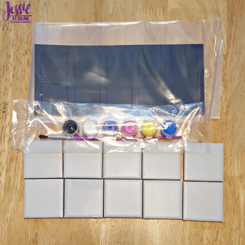 Magnetic Mini Tile Art supplies
