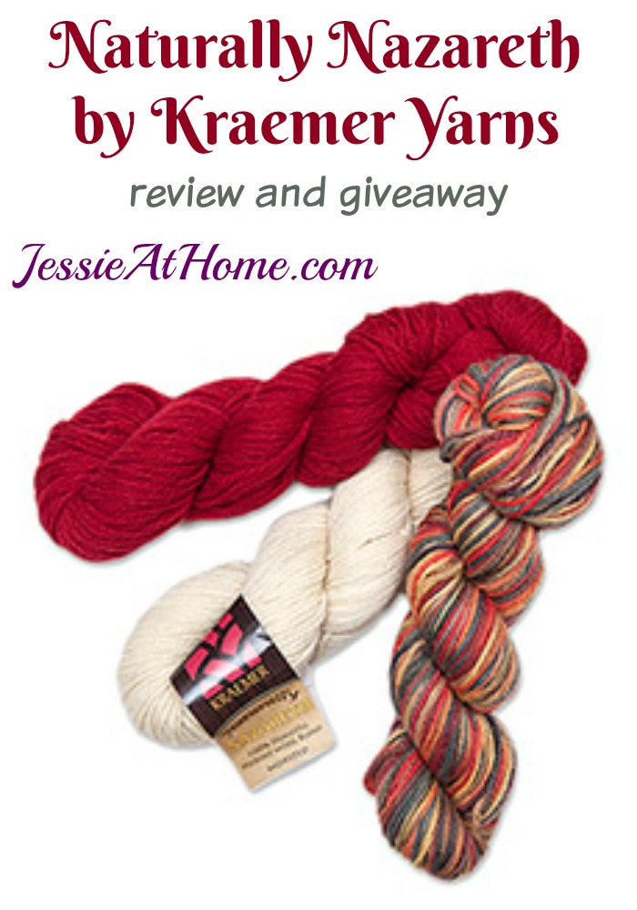 Naturally Nazareth review and giveaway from Jessie At Home