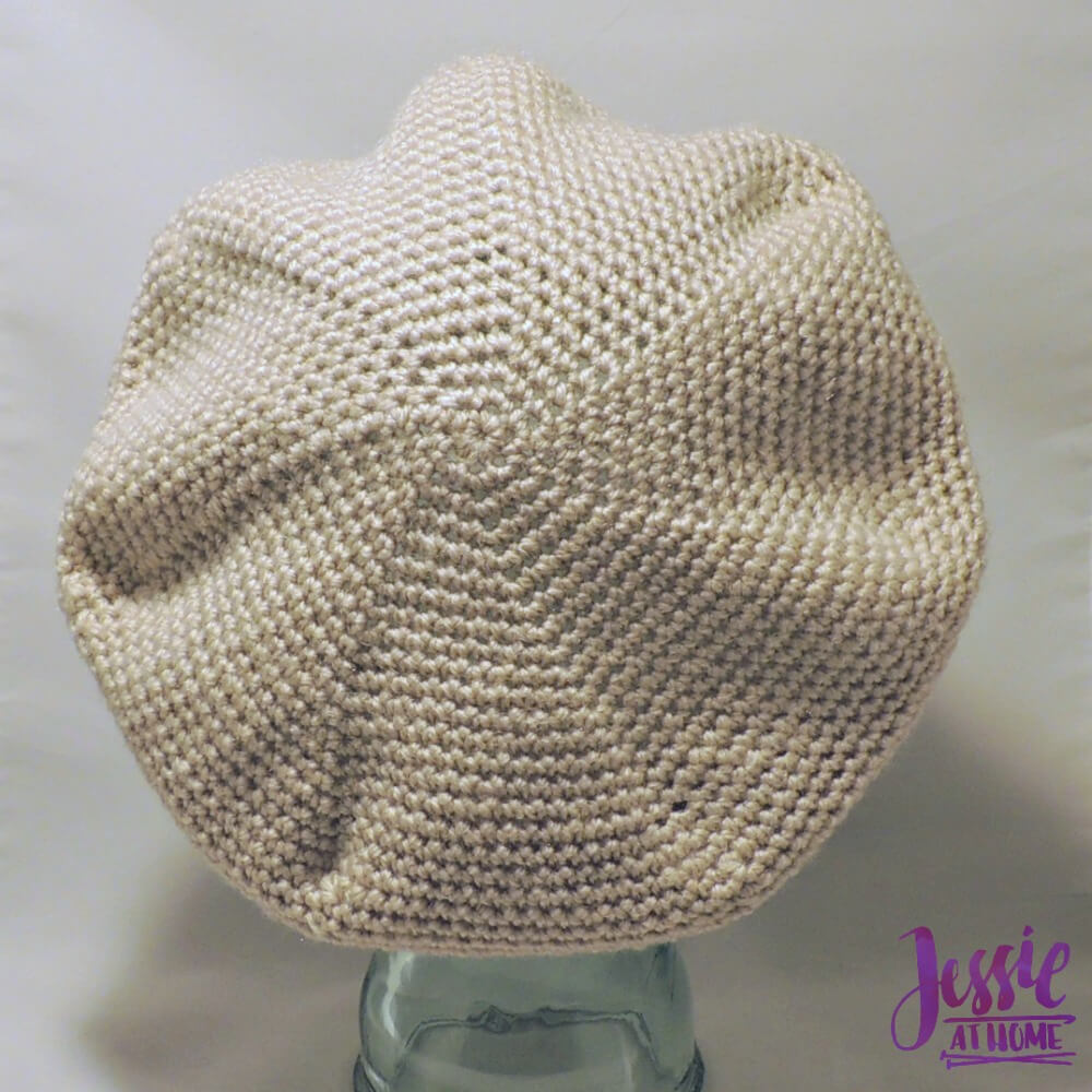 Snowflake Beret free crochet pattern by Jessie At Home - 3