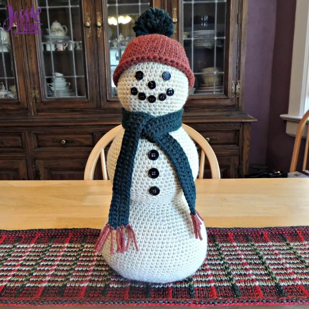 Snowman Centerpiece | Jessie At Home