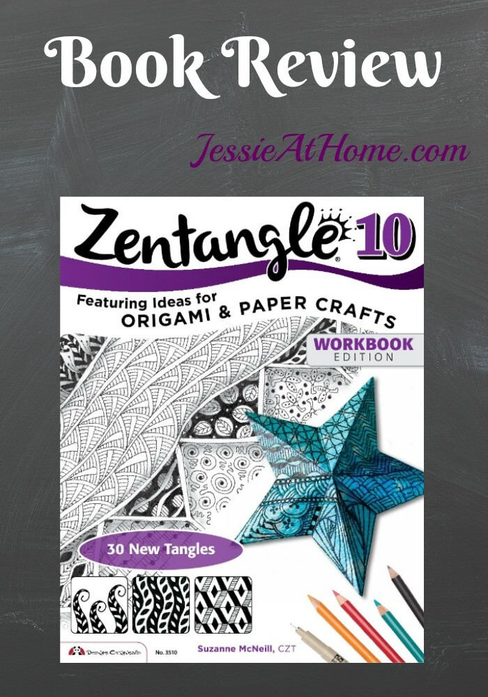 Zentangle 10 Book Review from Jessie At Home