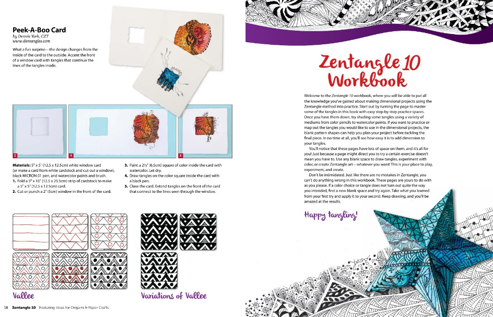Zentangle 10 Intro