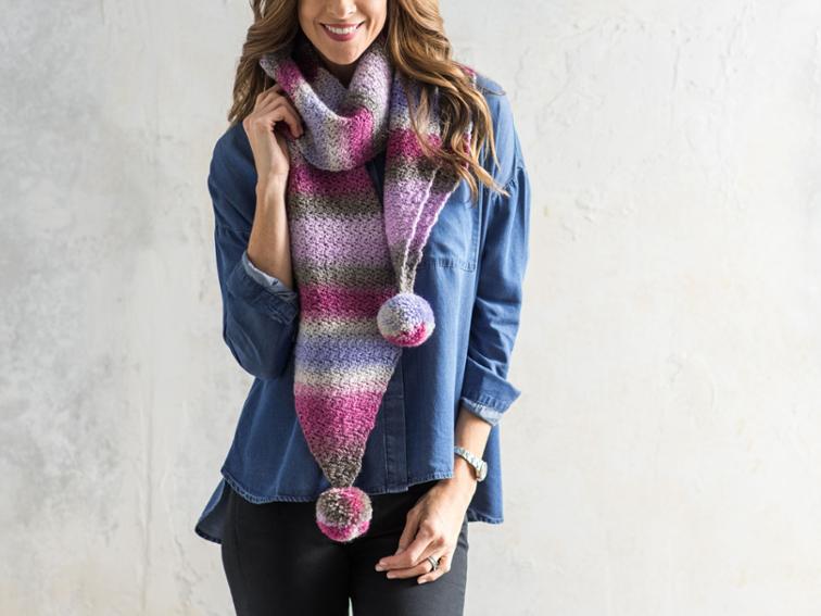 Alderwood Scarf Craftsy Crochet Kit