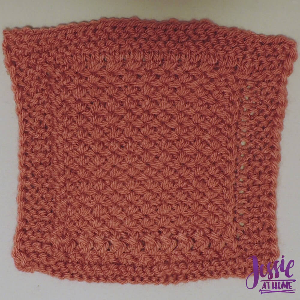 Criss Cross Square - free crochet pattern by Jessie At Home - 1