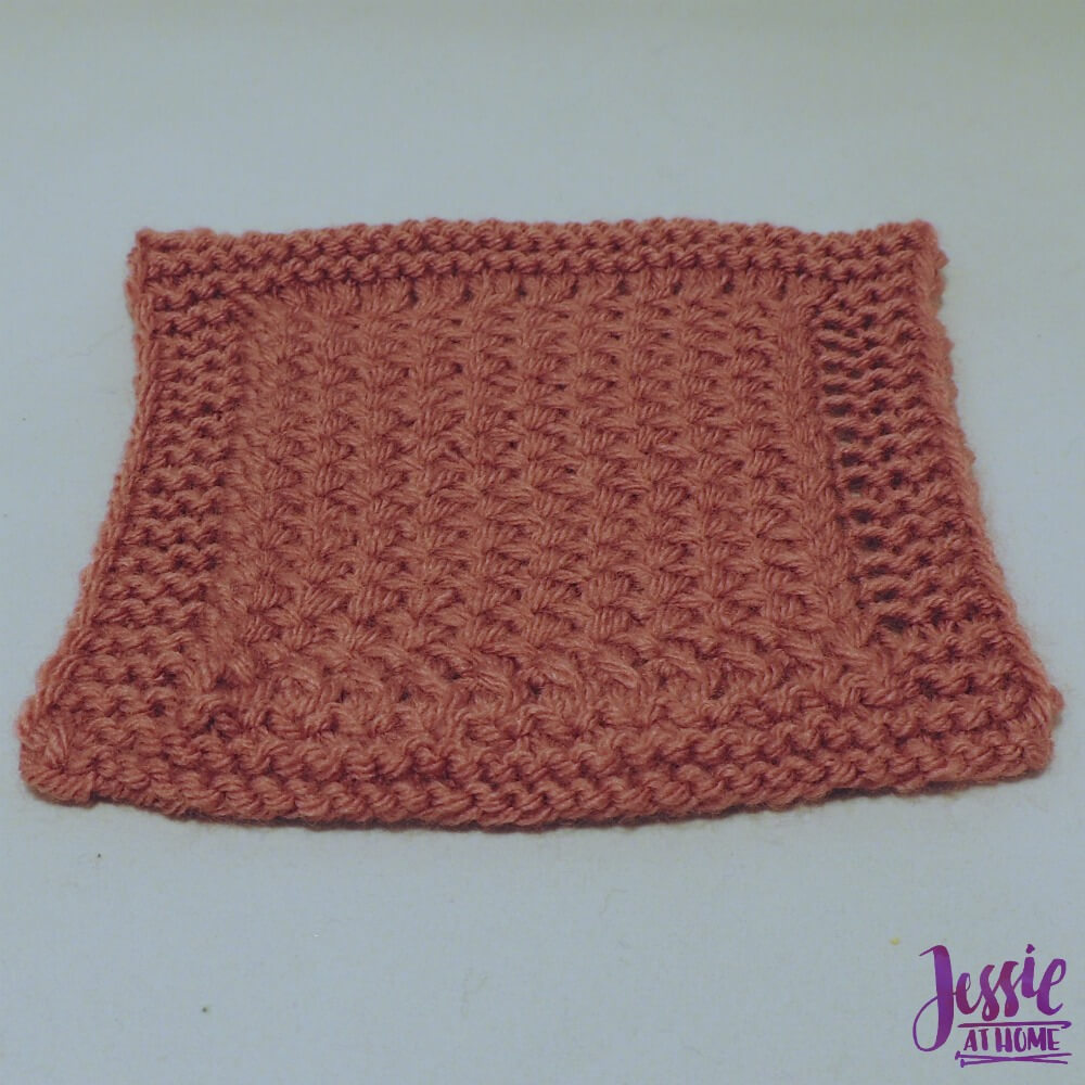Criss Cross Square - free crochet pattern by Jessie At Home - 2