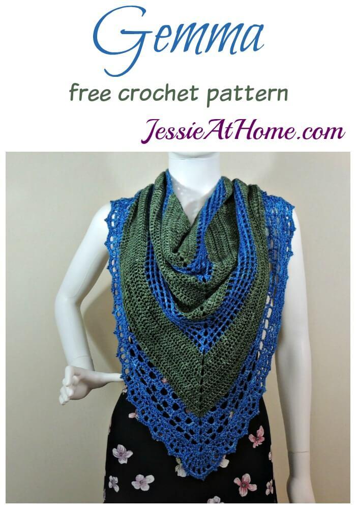 Gemma free crochet pattern by Jessie At Home