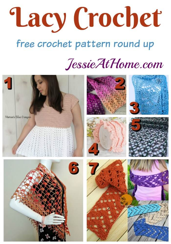 Lacy Crochet Jessie At Home
