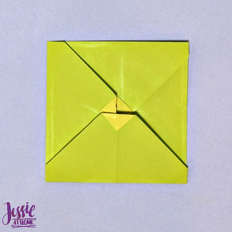 Origami Money Packet Step 10