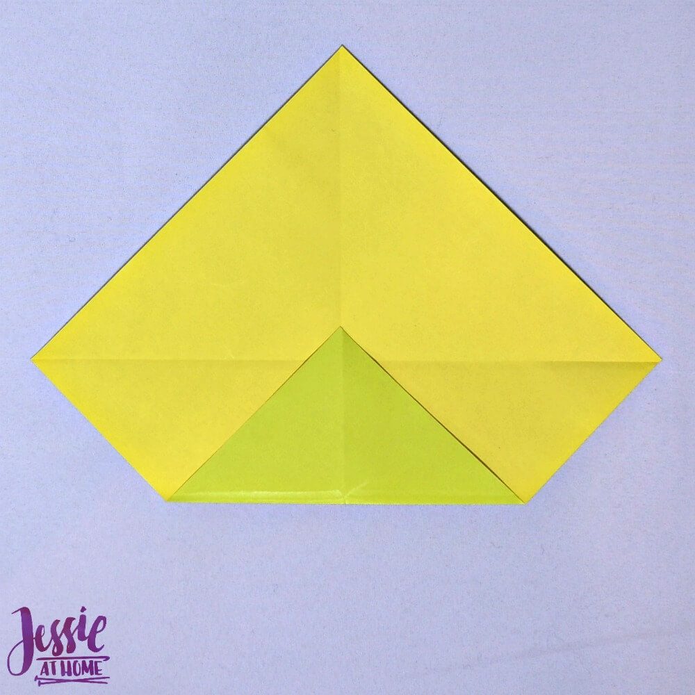 Origami Money Packet Step 3