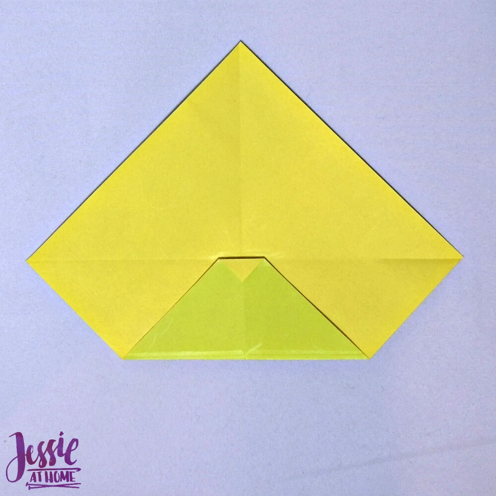 Origami Money Packet Step 4