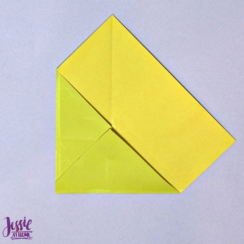 Origami Money Packet Step 5