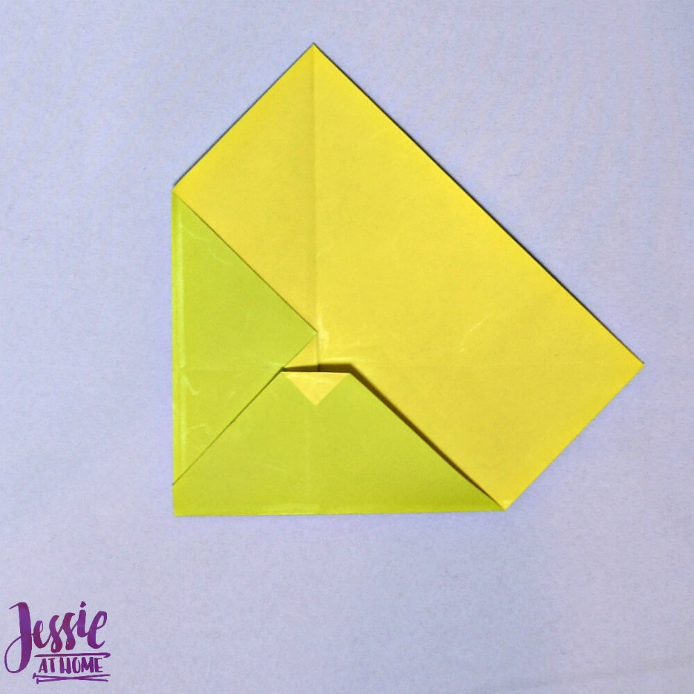 Origami Money Packet Step 6
