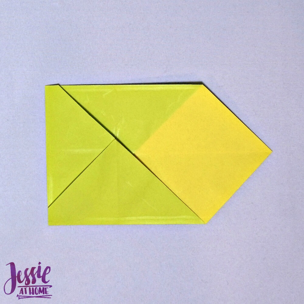 Origami Money Packet Step 7