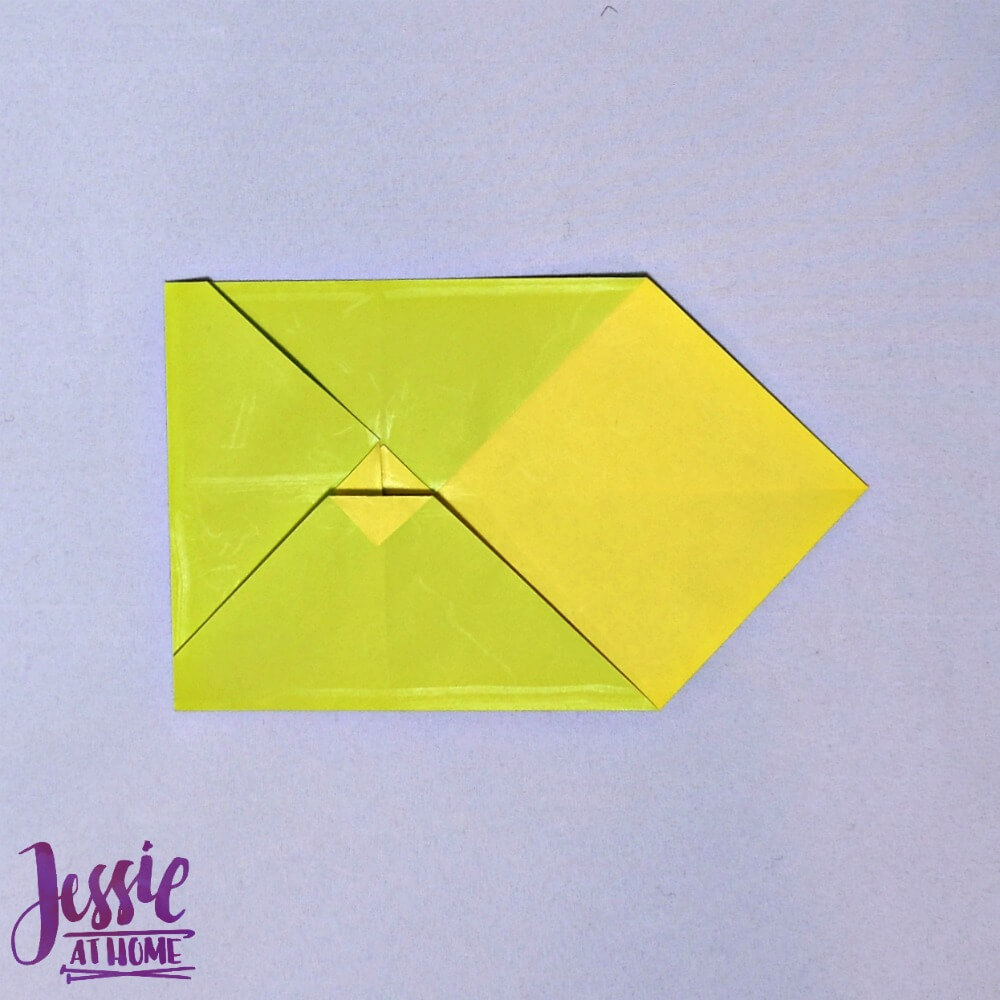 Origami Money Packet Step 8