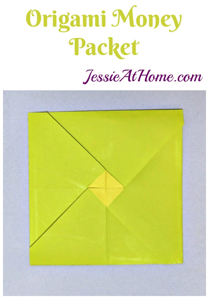 Origami Money Packet from Jessie At Home
