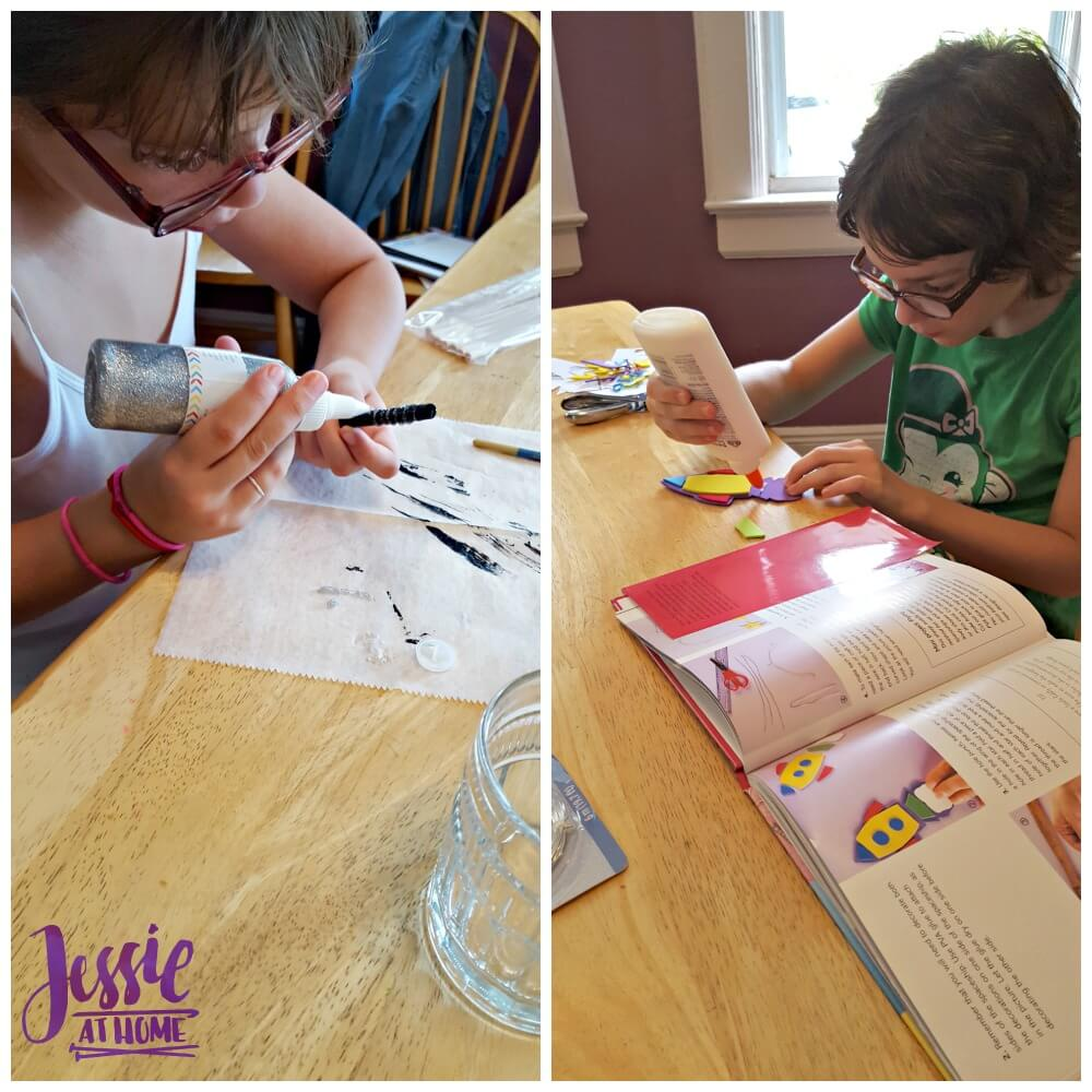 Papercrafts for Children - creating away
