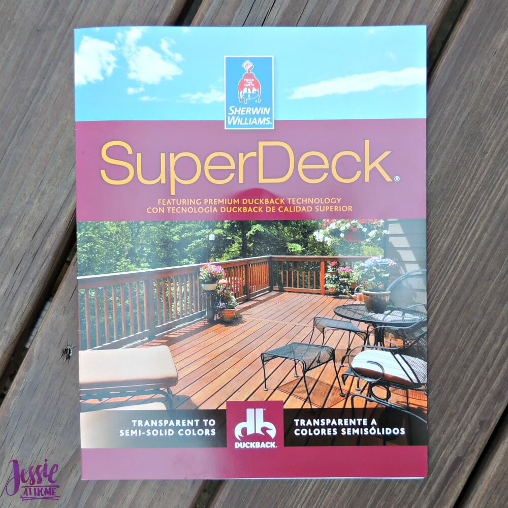 Staining the Deck - SuperDeck