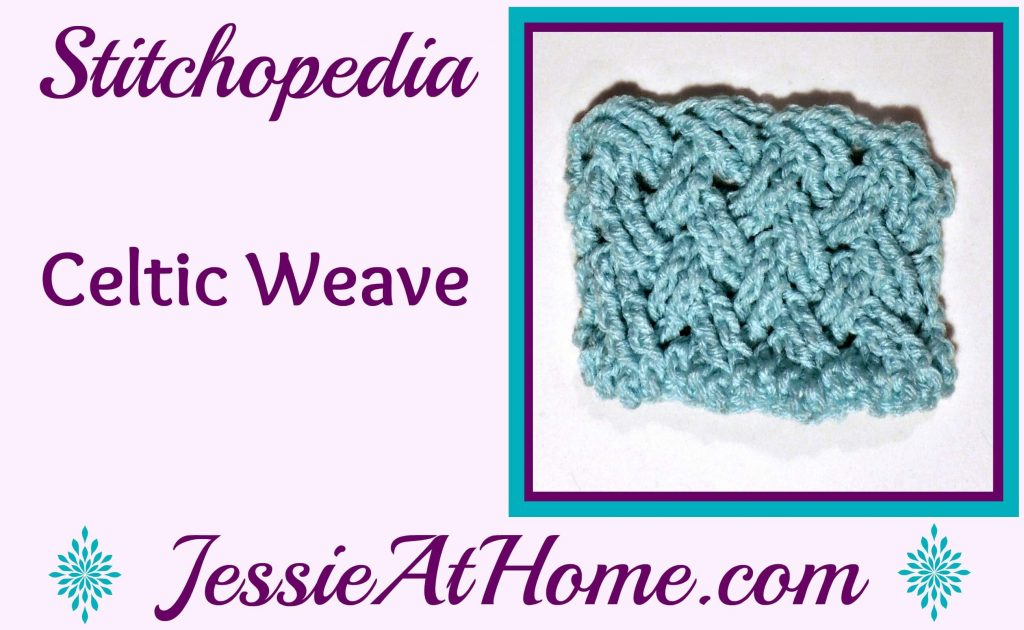 Stitchopedia Celtic Weave from Jessie At Home - cover
