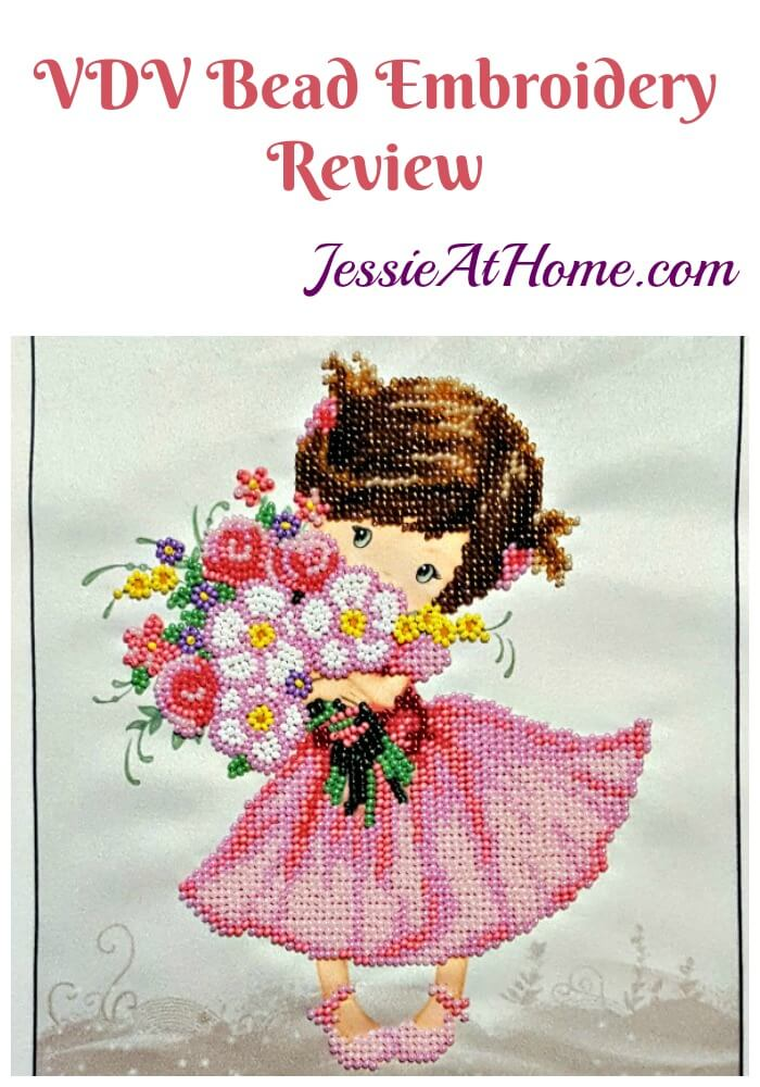 VDV Bead Embroidery Review from Jessie At Home