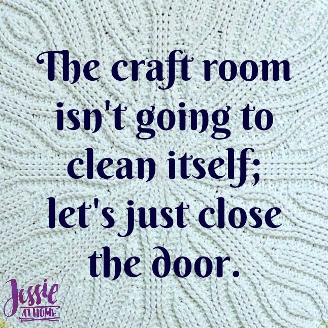 clean craft room
