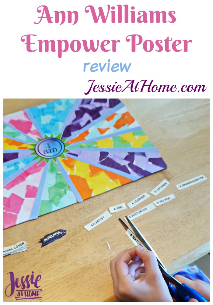 Ann Williams Empower Poster review from Jessie At Home