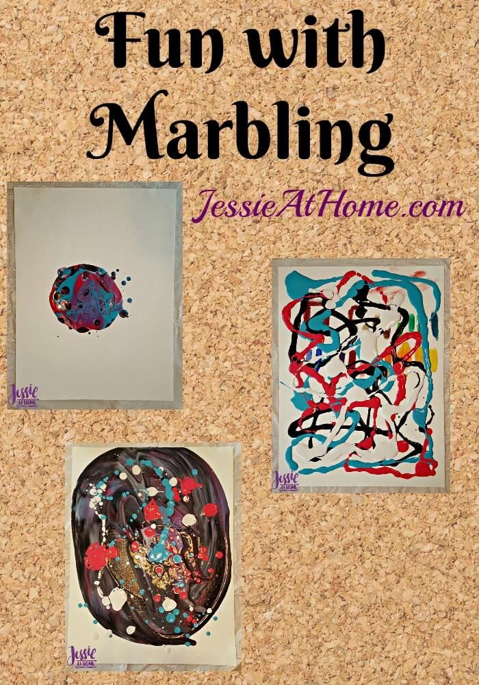 Fun with Marbling - by Jessie At Home